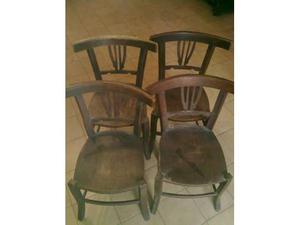 4 sedie antiche dell 800 in legno sedia antica