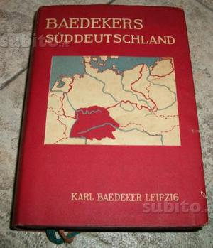 Guida Baedeker Suddeutschland