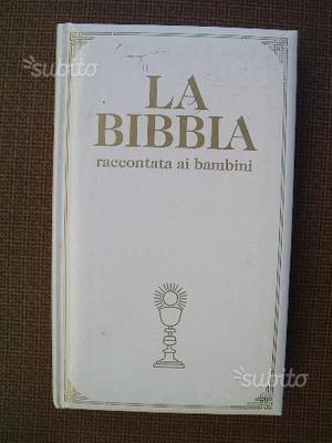 La bibbia per bambini piemme