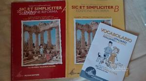 Libri latino - italiano - grammatica
