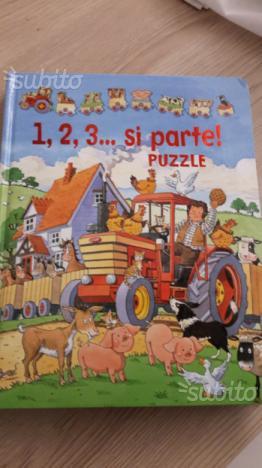 Libro per bambini 1,2,3.si parte Puzzle