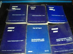 Manuale di assistenza officina riparazioni officina fiat uno 900.