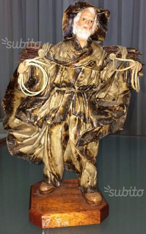 Statua in cartapesta leccese di claudio riso posot class for Cartapesta leccese tecnica