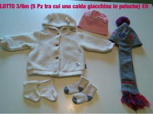 Abbigliamento neonata 3m e 3/6m