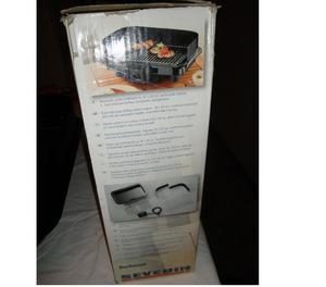 Barbecue elettrico XXL, griglia cm 41x26, Severin,  W