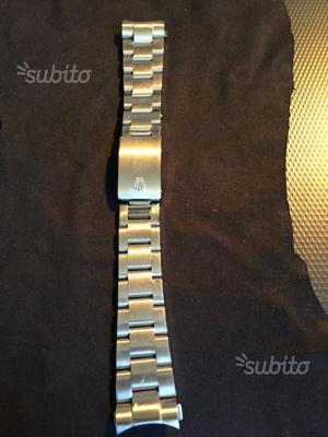 Bracciale per rolex acciaio anse 20 mm