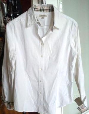 Camicia bianca burberry