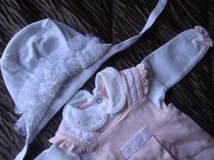 Lotto n.1 abbigliamento neonata 0-1m