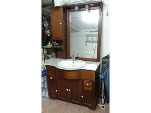 Mobile bagno in legno lavandino specchio colonna posot class - Mobile bagno con lavandino ...
