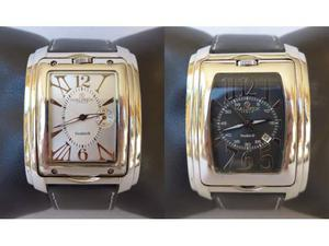 Orologio da polso Haurex Double-D doppio orologio