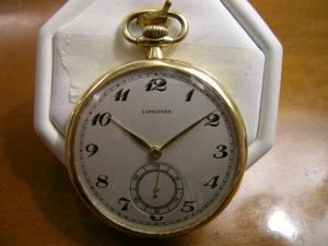 Orologio da tasca Longines in oro 18kt anno