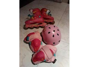 Pattini Roller e accessori bambina n. 34