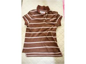 Polo T-shirt Abercrombie and Fitch - donna - taglia L