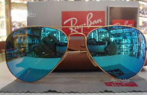 Rayban a goccia a specchio2 posot class - Ray ban a specchio blu ...