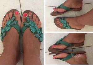 cerco scarpe da donna usate