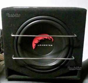 Stereo subwoofer Dragster