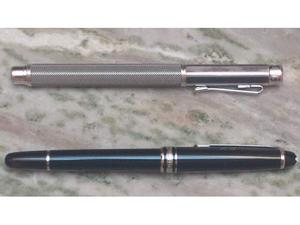 Vendo penne roller nuove mai usate: montblanc, caran d'ache