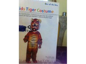 Vestito da carnevale da tigre