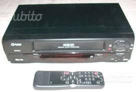 Video registratore VHS FUNAI come nuovo
