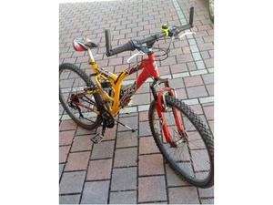 Bella Montain Bike da ragazzo  anni con cambio