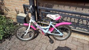 """Bicicletta 16"""" da bambina"""