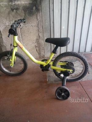 Bicicletta misura 14 bambini età 3/5 anni
