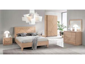 Camera da letto in listellare massello colore a scelta
