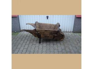 Cariola antica in legno