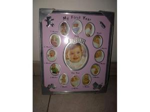 Cornice foto nascita primo anno 12 mesi
