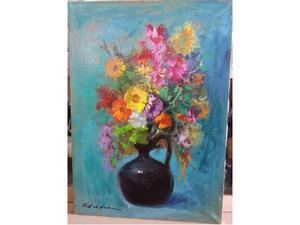 Dipinto su tela ad olio del pittore Osman Lorenzo de Scolari