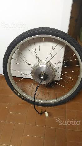 Ruota con motore per bici elettrica