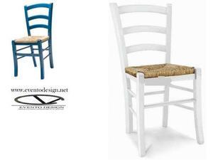 Sedie ristorazione in legno massello cod 901/P/BC