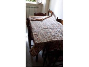 Set tavolo cucina con 6 sedie in legno