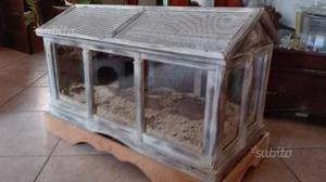 Terrario in legno posot class for Termostato per tartarughe