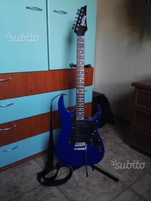 Chitarra Elettrica IBANEZ, Blu (accessori inclusi)