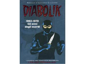 """Diabolik - serie """"I classici del fumetto di Repubblica"""""""
