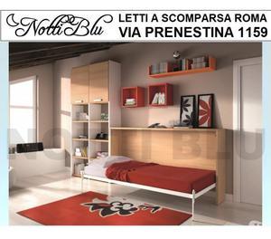 Letti a Scomparsa >letto singolo per mansarde Roma