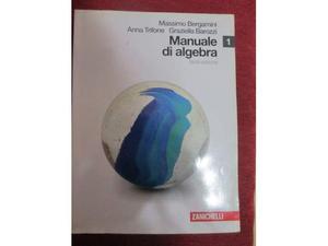 Libro Manuale di Algebra 1 - usato