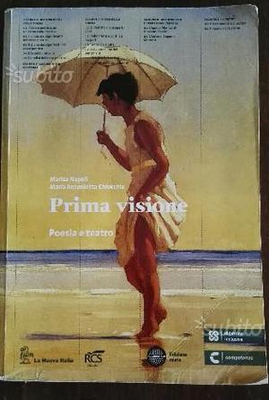 Libro scolastico Prima Visione (poesia e teatro)