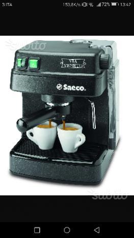 Macchinetta del caffè Saeco via Veneto
