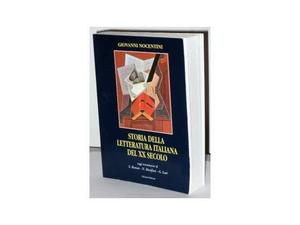 Storia della letteratura italiana del XX secolo, G.