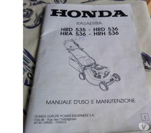 Tosaerba marca honda motore a scoppio