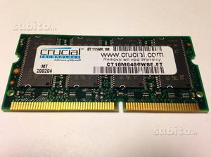 "Banco memoria ""Crucial"" per Apple Mac"