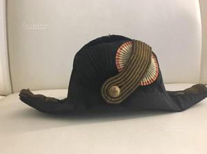 Cappello antico marina con scatola legno