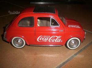 Fiat 500 coca-cola, 1:16, solido
