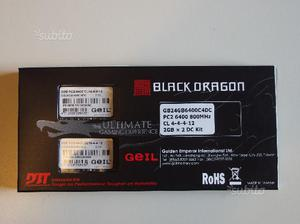 Geil Black Dragon Ultra Low Latency DDR2 PC