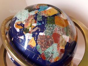 Grande Mappamondo da terra - Pietre minerali