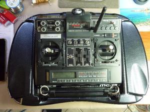 Graupner-jr mc18 radiocomando vintage