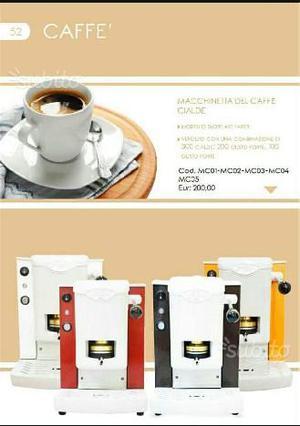 Macchinetta da caffè con cialde
