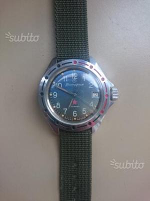 Orologio Vostok komandirskie meccanico